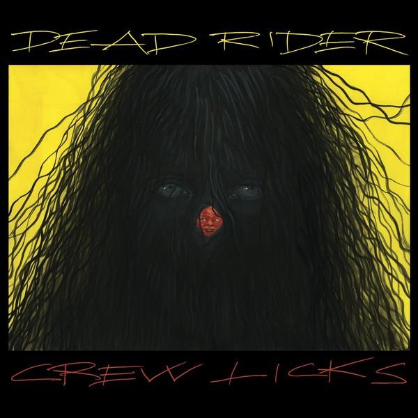 DEAD RIDER, crew licks cover