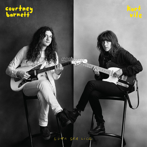 Cover COURTNEY BARNETT & KURT VILE, lotta sea lice