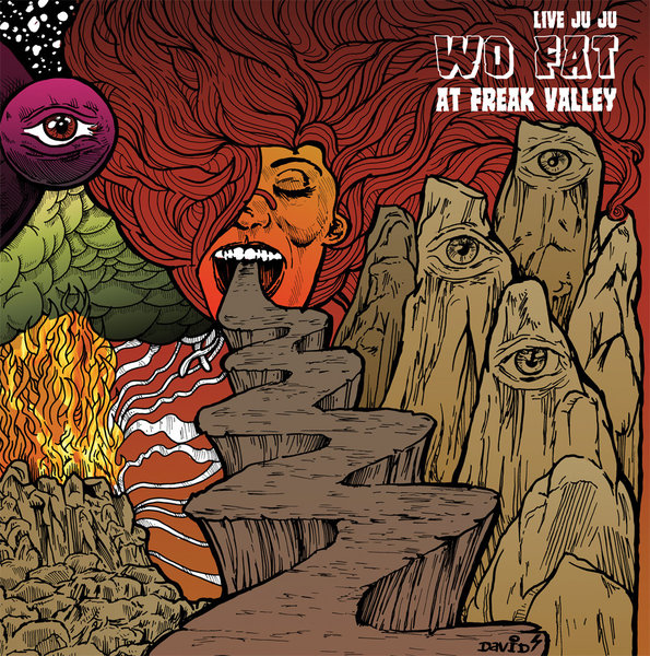 Cover WO FAT, live juju: freak valley and beyond