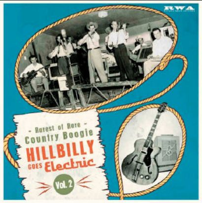 V/A, hillbilly goes electric vol.02 cover
