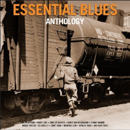 V/A, essential blues anthology cover