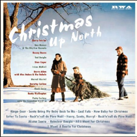 V/A, christmas up north cover