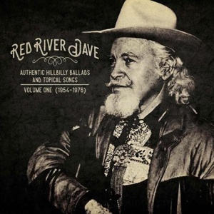 Cover RED RIVER DAVE, authentic hillbilly ballads