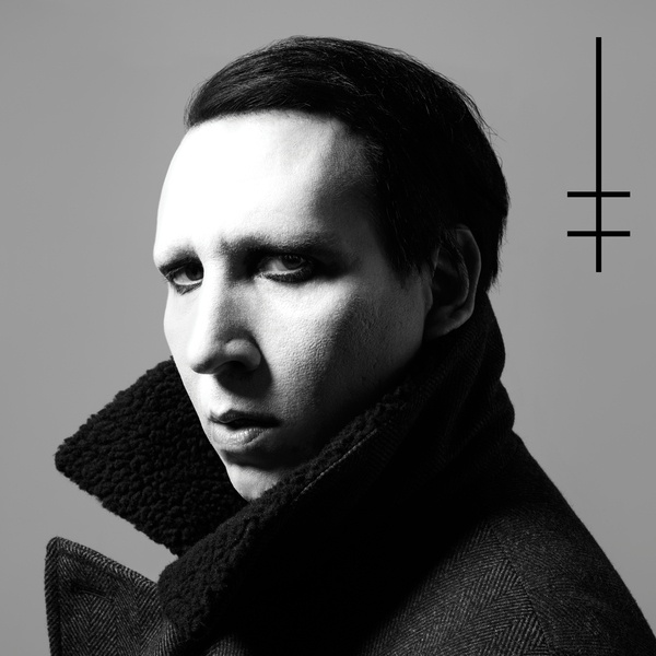 Cover MARILYN MANSON, heaven upside down