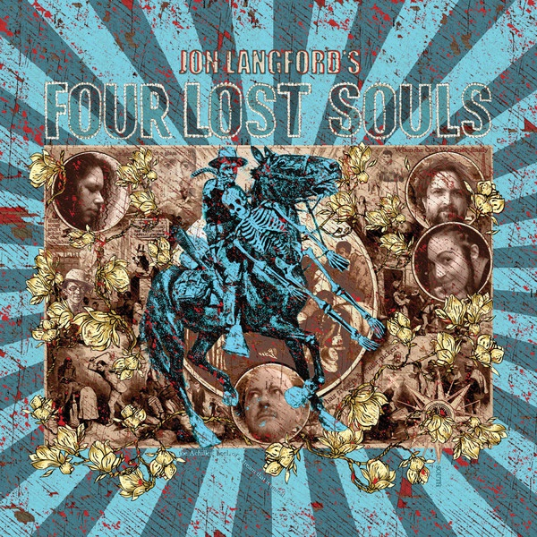 JON LANGFORD, four lost souls cover