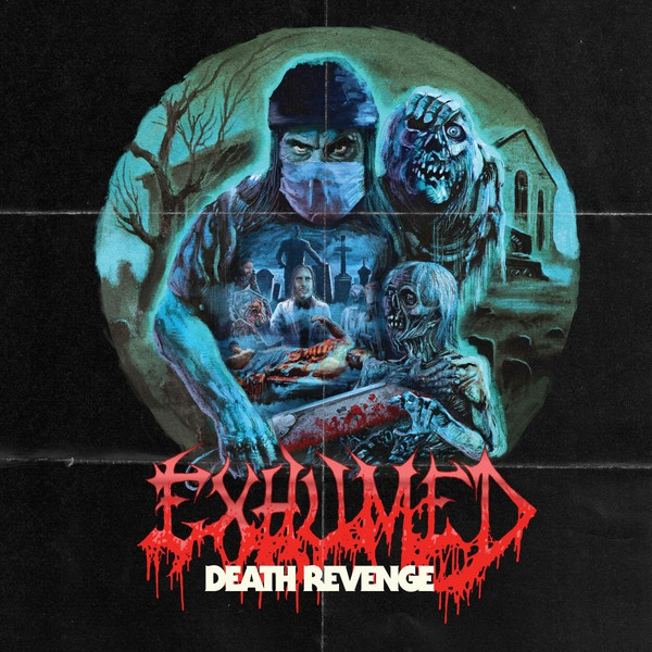 EXHUMED, death revenge cover