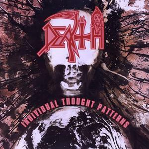 Cover DEATH, individual thought patterns (25 year anniversary)