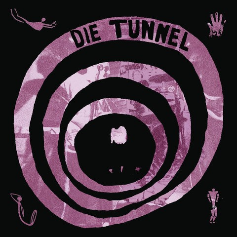 Cover DIE TUNNEL, s/t (siebdruck-edition)