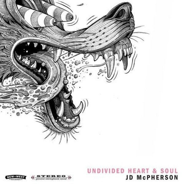 Cover JD MCPHERSON, undivided heart & soul