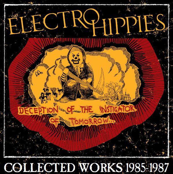 ELECTRO HIPPIES, deception of the instigator of tomorrow cover