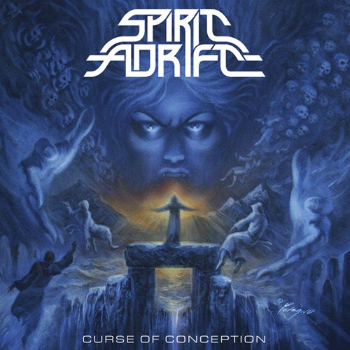 SPIRIT ADRIFT, curse of conception cover