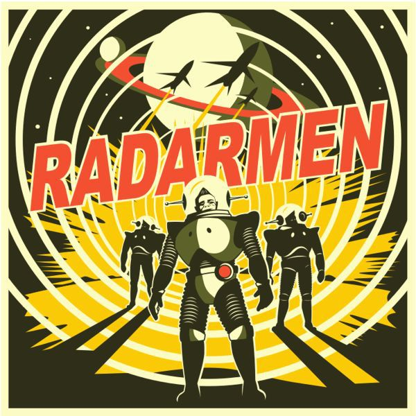 Cover RADARMEN, s/t ep