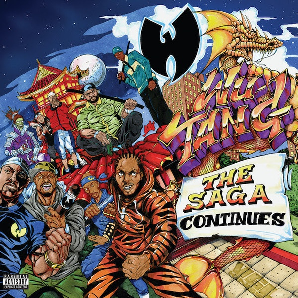 WU-TANG CLAN, the saga continues cover