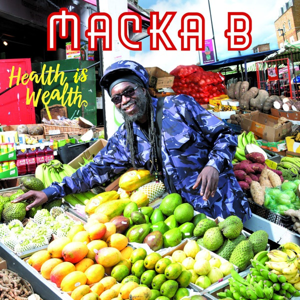 Cover MACKA B, health is wealth