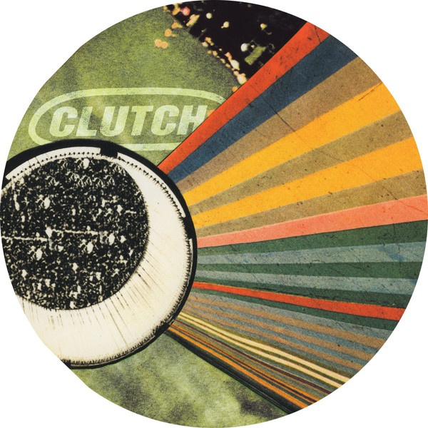 CLUTCH, live at the googolplex-picture disc cover