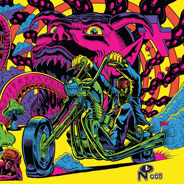 Cover V/A, warfaring strangers: acid nightmares