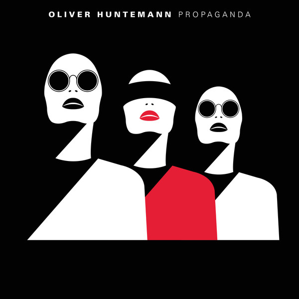 Cover OLIVER HUNTEMANN, propaganda