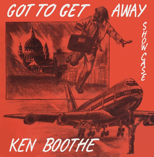 Cover KEN BOOTHE, got to get away
