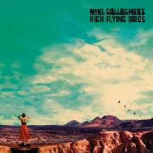 NOEL GALLAGHER`S HIGH FLYING BIRDS, who built the moon ? cover