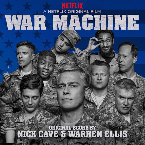 Cover NICK CAVE & WARREN ELLIS, war machine - o.s.t.