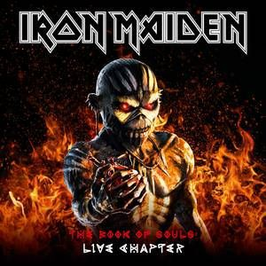 IRON MAIDEN, the book of souls: live chapter cover