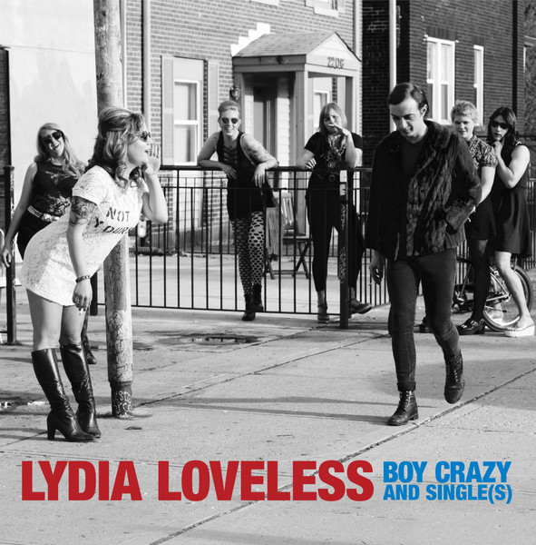 Cover LYDIA LOVELESS, boy crazy single(s)