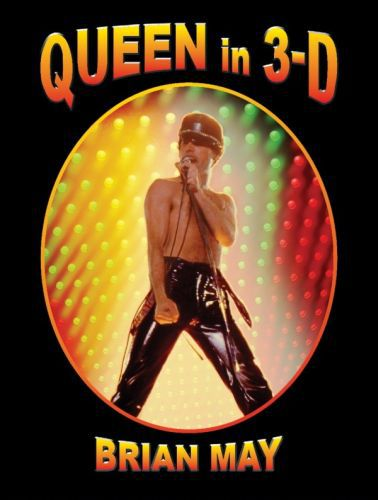 BRIAN MAY, queen in 3D cover