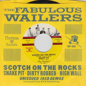 FABULOUS WAILERS, scotch on the rocks cover