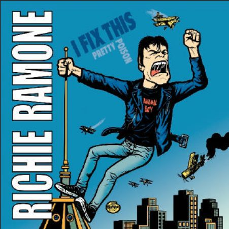 RICHIE RAMONE, i fix this cover