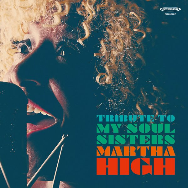 Cover MARTHA HIGH, tribute to my soul sisters