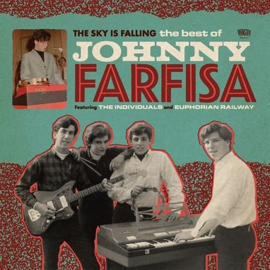 Cover JOHNNY FARFISA, the sky is falling, bets of ...