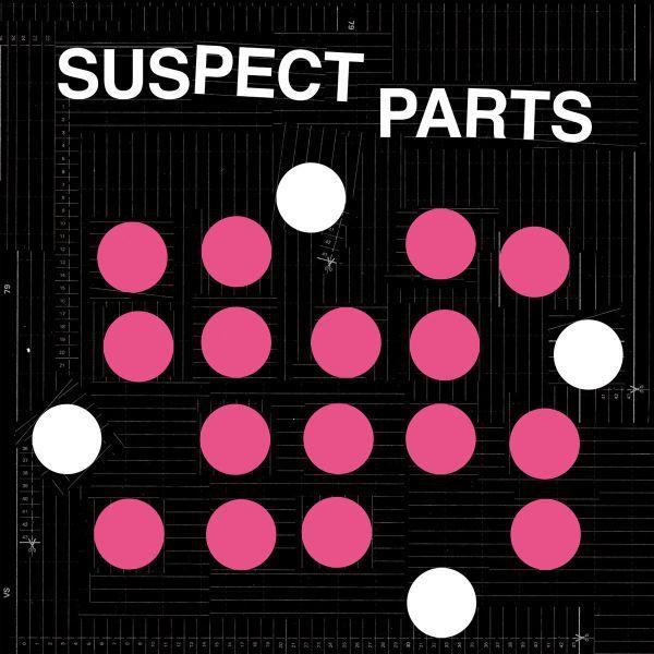 SUSPECT PARTS, s/t cover