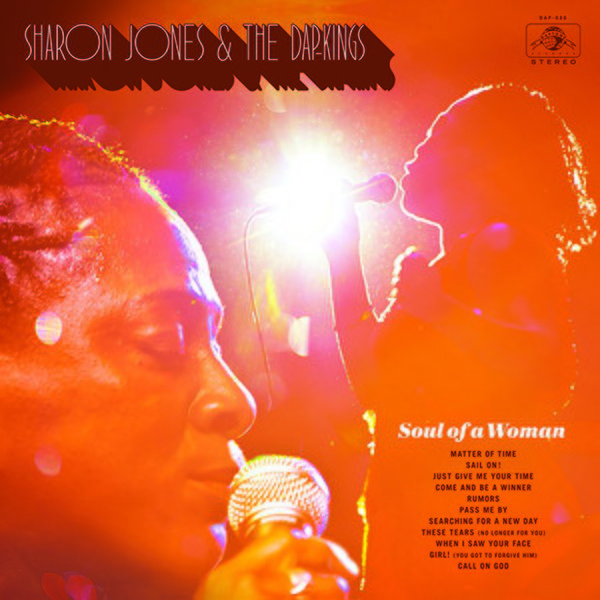 Cover SHARON JONES & DAP KINGS, soul of a woman
