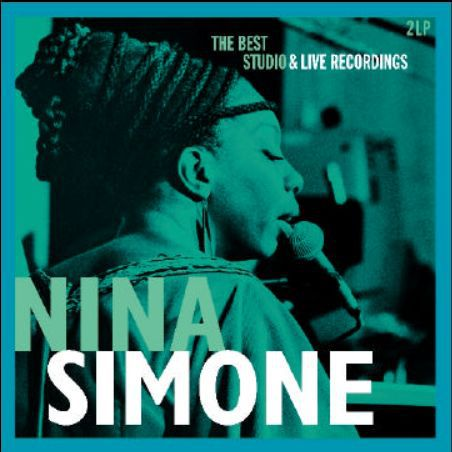 Cover NINA SIMONE, best studio & live.recordings