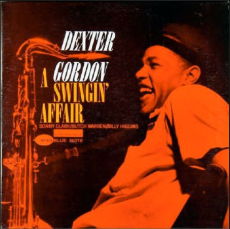 Cover DEXTER GORDON, a swingin´ affair