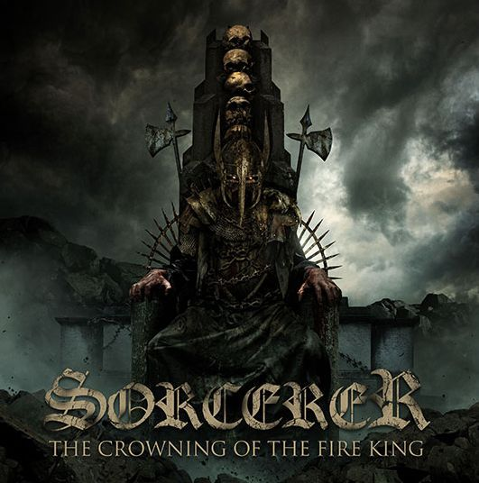 Cover SORCERER, the crowning of the fire king