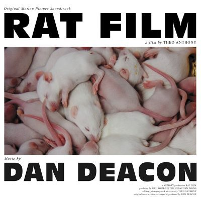 Cover DAN DEACON, rat film - o.s.t.