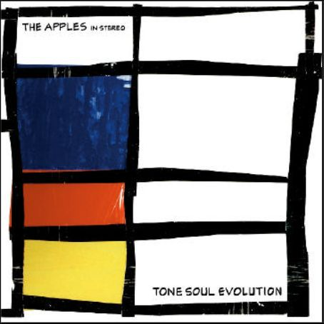 Cover APPLES IN STEREO, tone soul evolution