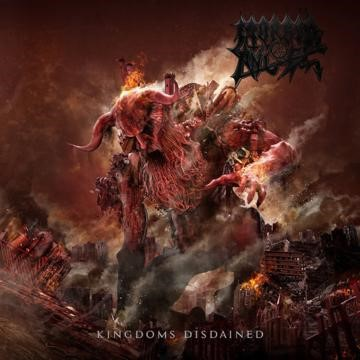 MORBID ANGEL, kingdoms disdained cover