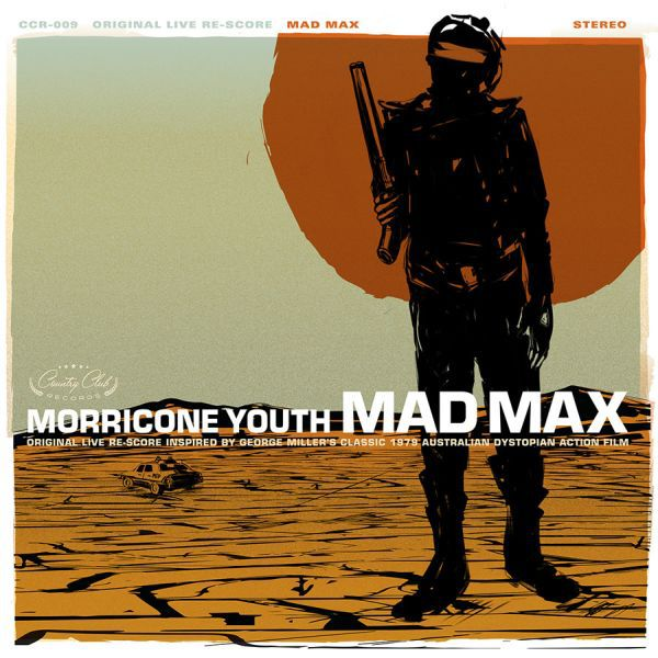 Cover MORRICONE YOUTH, mad max