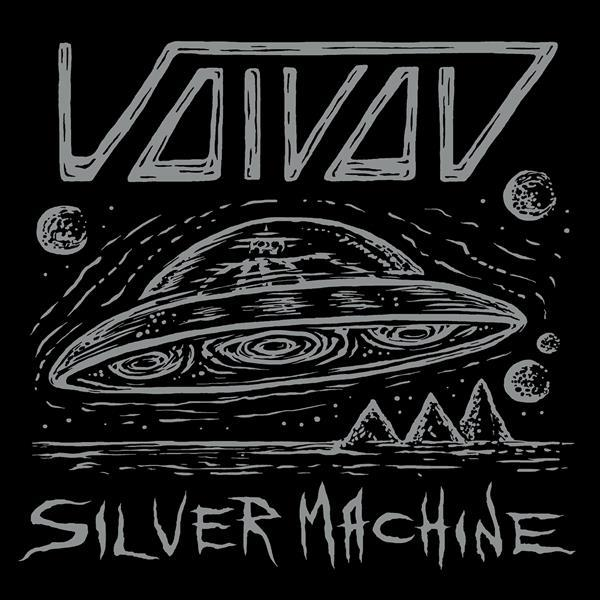 Cover VOIVOD, silver machine