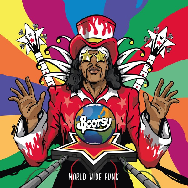 BOOTSY COLLINS, world wide funk cover