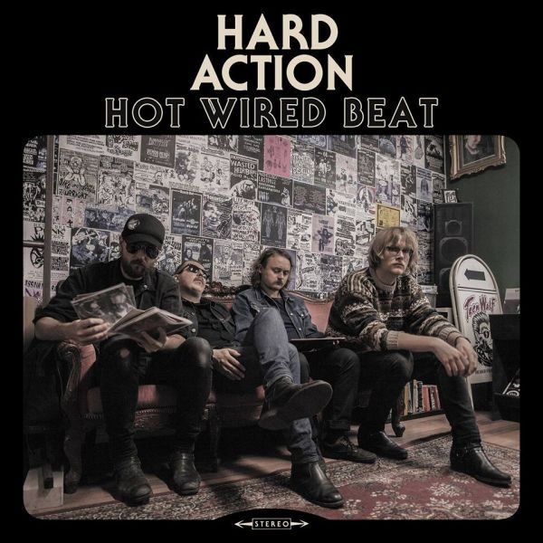Cover HARD ACTION, hot wired beat