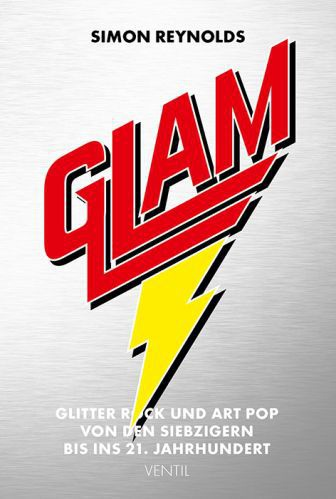 SIMON REYNOLDS, glam glitter rock & art pop... cover
