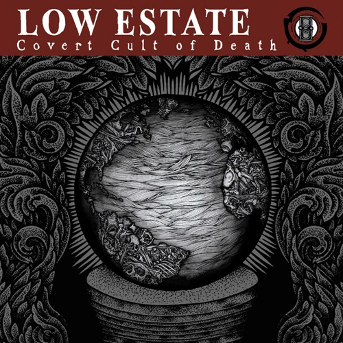 Cover LOW ESTATE, covert cult of death