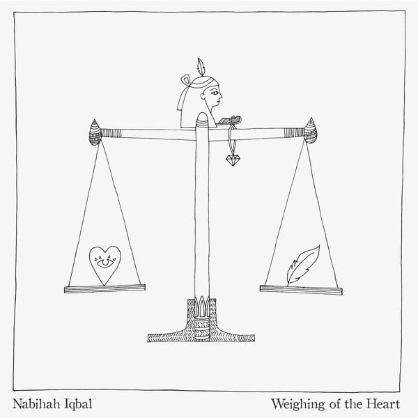 NABIHAH IQBAL, weighing of the heart cover