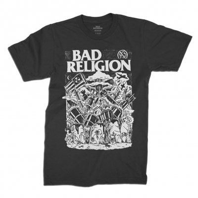 BAD RELIGION, wasteland (boy) black cover