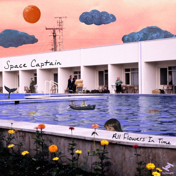 Cover SPACE CAPTAIN, all flowers in time