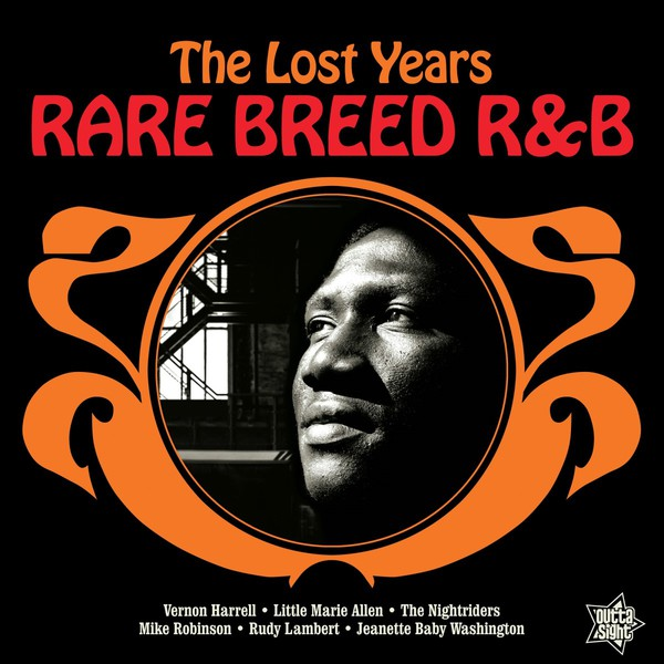 Cover V/A, rare breed r&b - the lost years