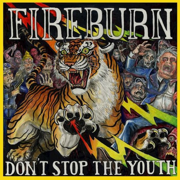 Cover FIREBURN, don´t stop the youth